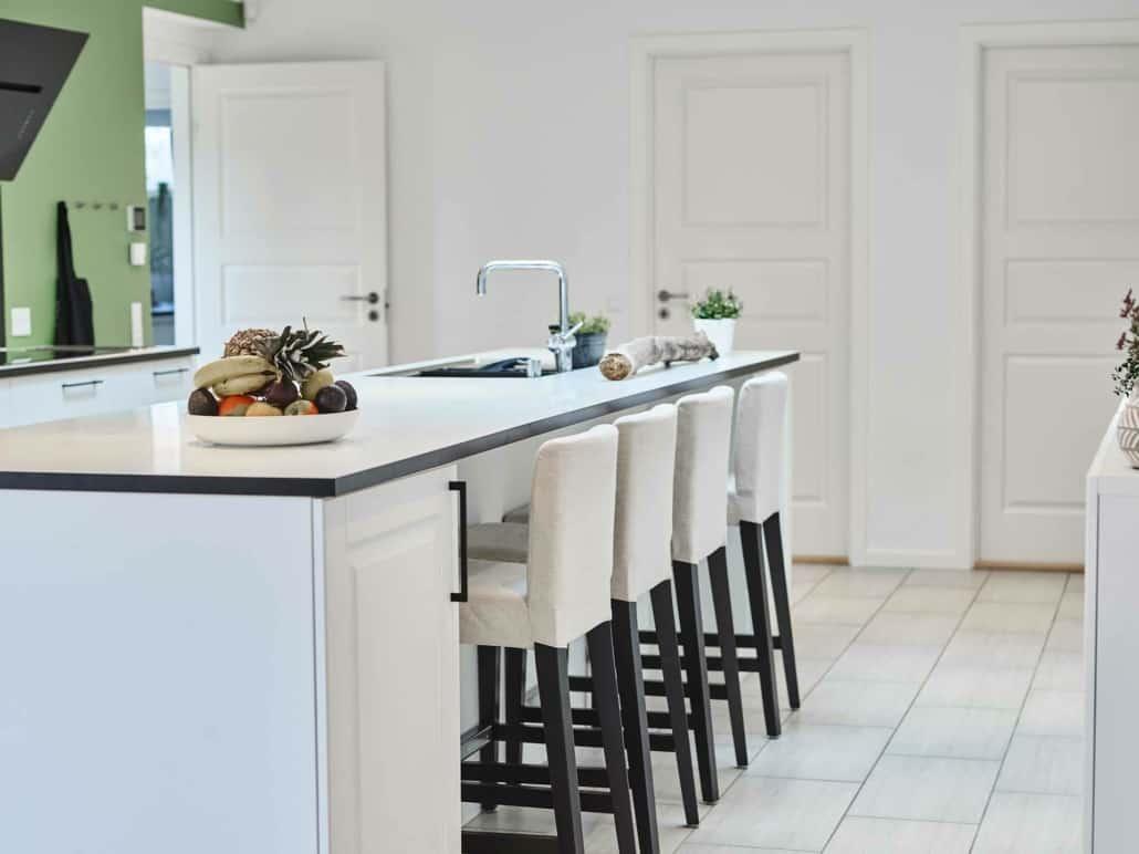 gulve i et køkken